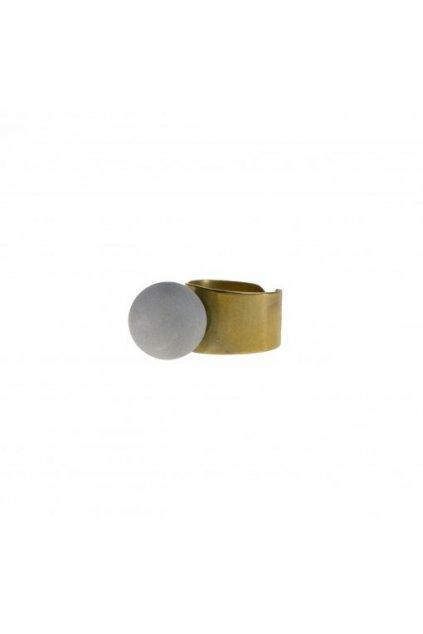 concrete ring BRASS